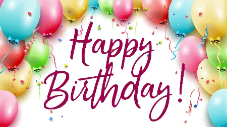happy birthday images 2020
