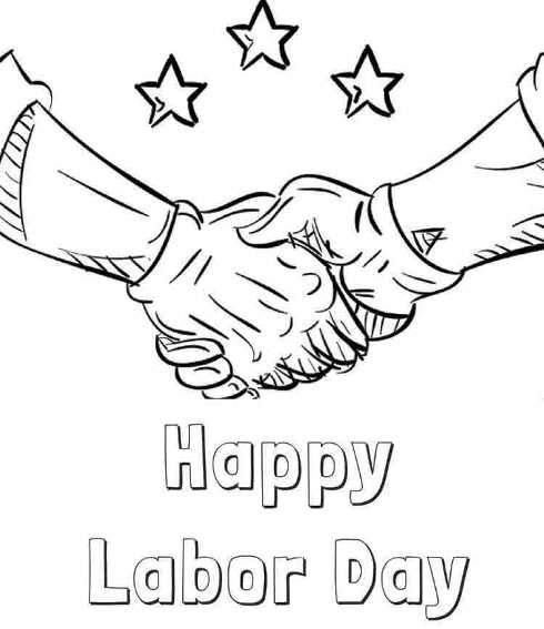 Labor Day Coloring Pages 2020