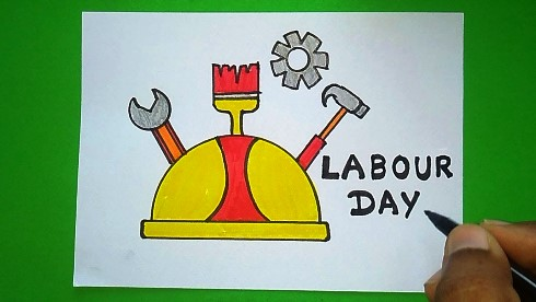 labor day drawing 2020