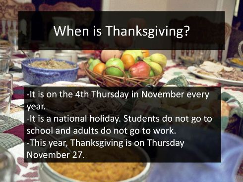 When Is Thanksgiving 2020