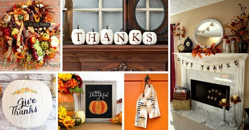 Thanksgiving Day Decoration Ideas 2020