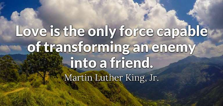 Martin Luther King Quotes About Love 2021